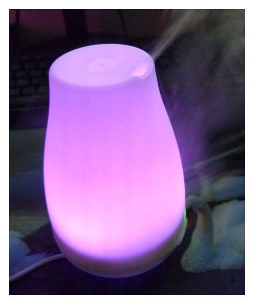 produkttest victsing 100ml aroma diffuser aromatherapie diffusor luftbefeuchter ultraschall led. Black Bedroom Furniture Sets. Home Design Ideas