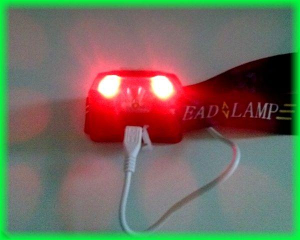 produkttest usb wiederaufladbare led stirnlampe wasserdicht wei rot sos leuchtmodi led. Black Bedroom Furniture Sets. Home Design Ideas