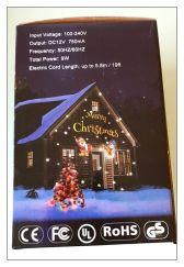 Weihnachtsbeleuchtung Aussen Schneefall.Werbung Led Schneefall Projektor Licht Animation Projektionslampe